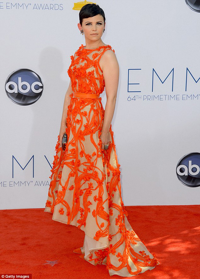 Ginnifer Goodwin at Emmy Awards 2012