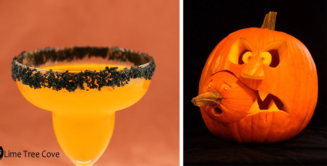 halloween drinks, halloween decoration