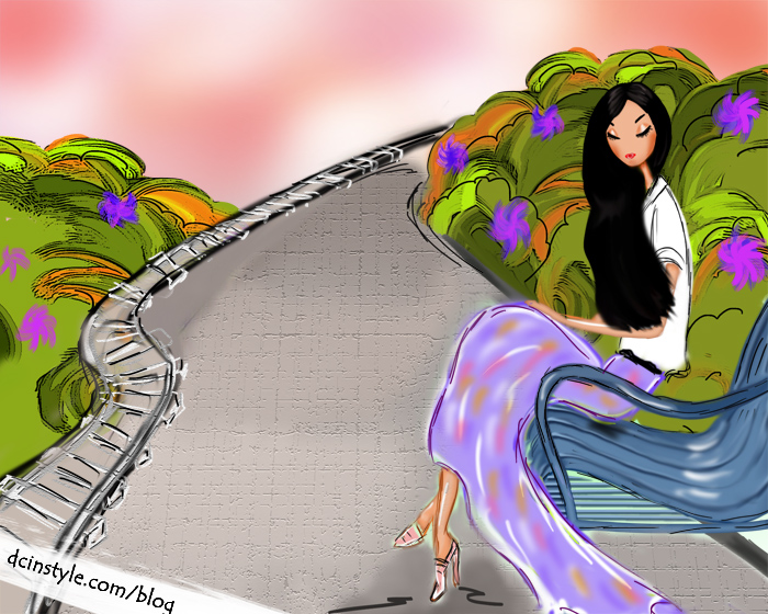 fashion illustration created in photoshop, whimsical illustration, CG art