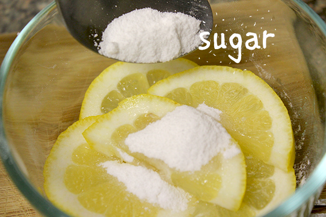 lemons with sugar are good for health