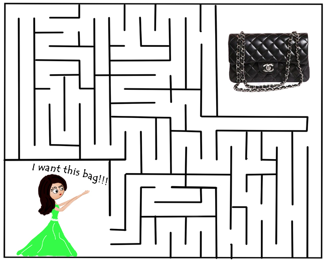 personal style blog, maze game, chanel bag, DC in style blog