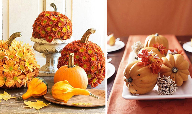 Thanksgiving table decoration ideas dc in style Thanksgiving table decorations homemade