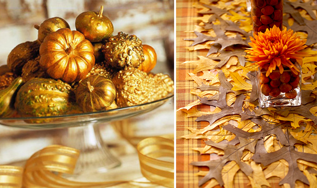 Creative ideas for diy archives dc in style Thanksgiving table decorations homemade