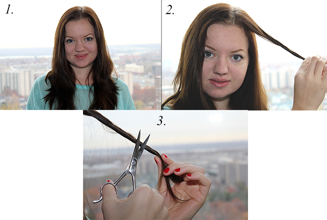 how to trim split ends at home, healthy hair, beautiful hair, tips for healthy hair