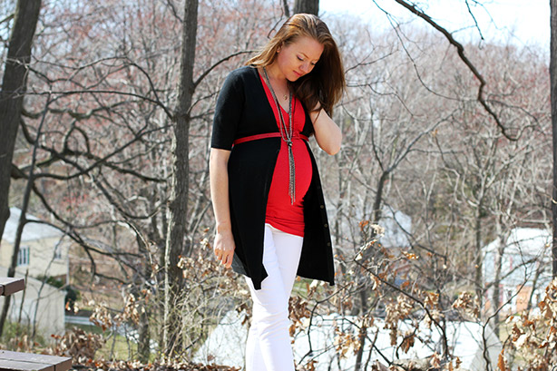 skinny jeans, maternity wear, maternity outfit, pregnancy style, Isabella Oliver,