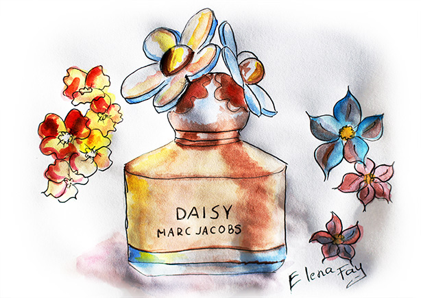 fashion inspiration: Marc Jacobs, Marc Jacobs drawing, Marc Jacobs sketch, watercolor, painting