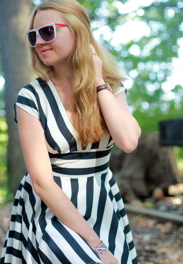 swing dress by Asos, striped dress, pretty look, summer style, Asos, fashiona