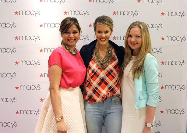 Courtney kerr at Macy's show