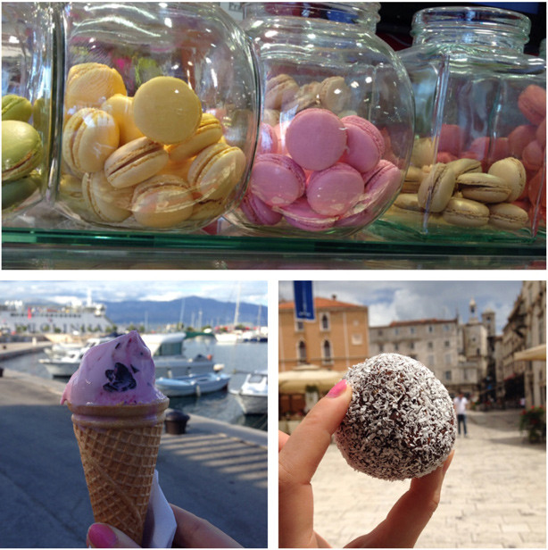 macarons, delicious sweets, icecream
