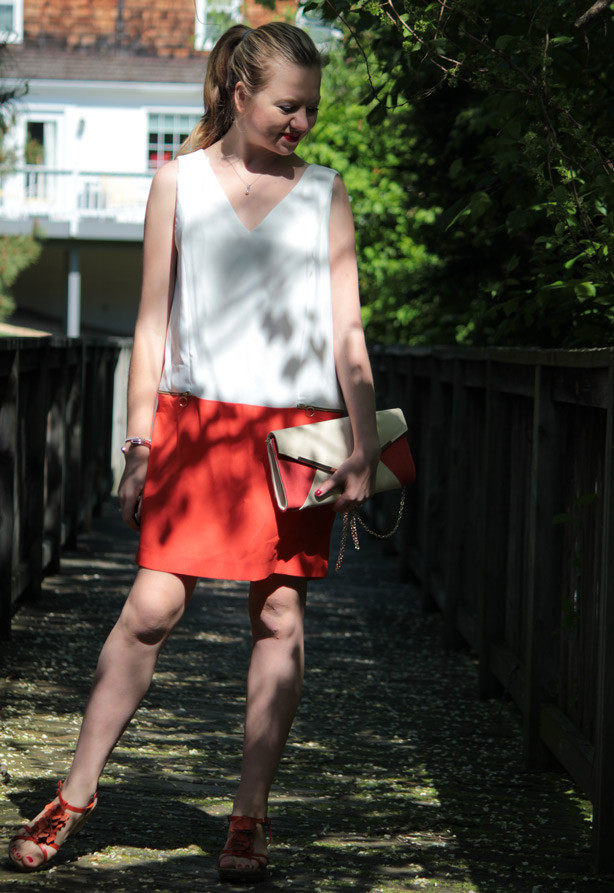 Zara Dress, Langford Market clutch