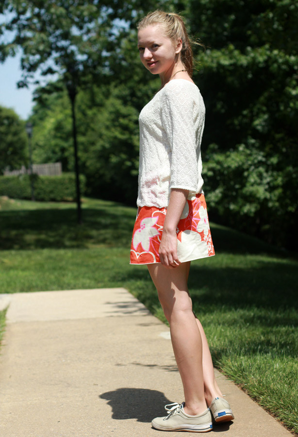 orange skirt, skater look, skater look, trendsetters linkup, blogger collaboration