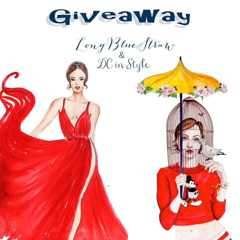 illustration giveaway, fashion illustrations, DC illustrators, creative blog