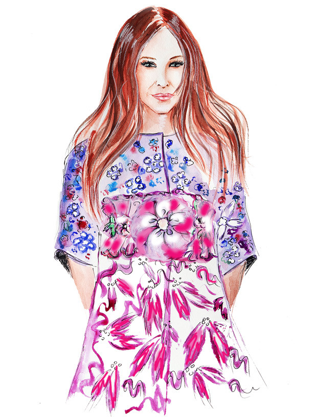 fashion illustration, fashion drawing, illustration