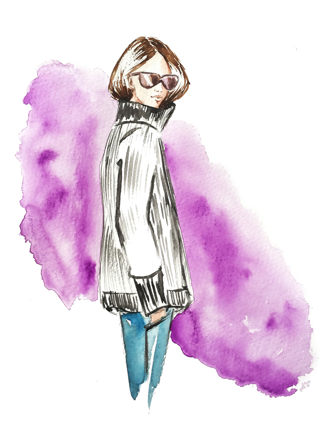 fashion illustration, watercolor art, fashion art, sketches
