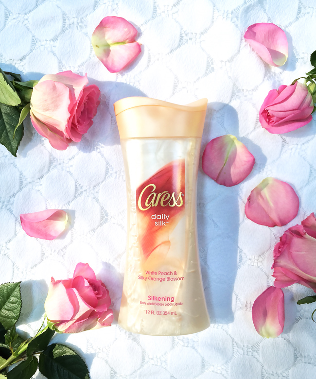 caress body wash, caress daily silk, beauty routine