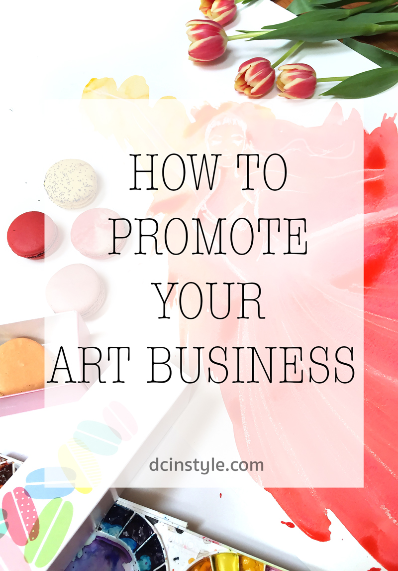 how to promote your art business, how to market yourself as artist, how to sell art