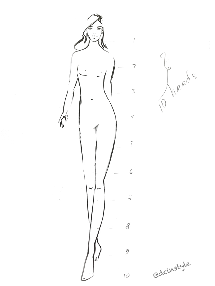 how to draw fashion illustration fashion figure 101 dc